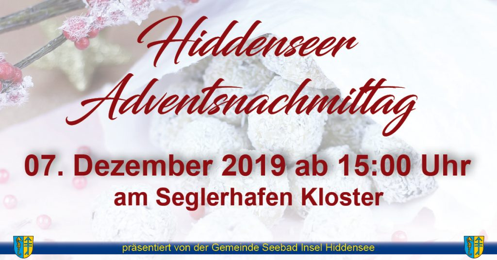 Hiddenseer Adventsnachmittag @ Seglerhafen Kloster